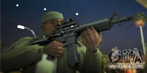 Black Edition Weapon Pack for GTA San Andreas third screenshot