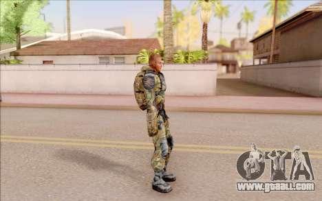 That of S. T. A. L. K. E. R. for GTA San Andreas third screenshot