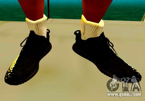 Adidas Yeezy Boost 350 Pack for GTA San Andreas fifth screenshot