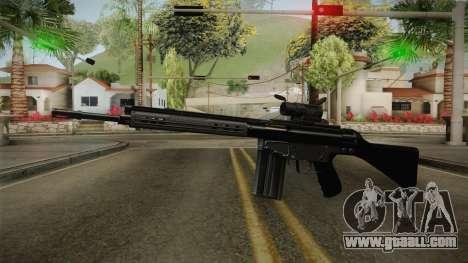 AK-4B Assault Rifle for GTA San Andreas second screenshot