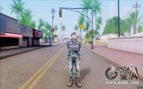 Colonel Cooper of S. T. A. L. K. E. R for GTA San Andreas