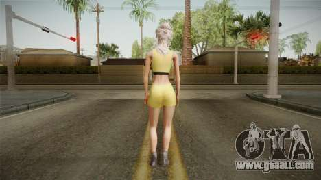 Nousha Skin for GTA San Andreas third screenshot