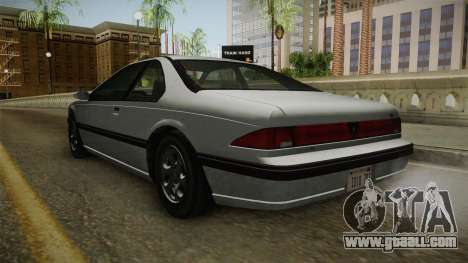 GTA 4 - Vapid Fortune for GTA San Andreas right view