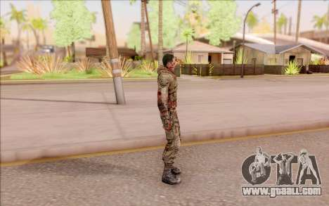 Zombie Degtyarev from S. T. A. L. K. E. R. for GTA San Andreas third screenshot