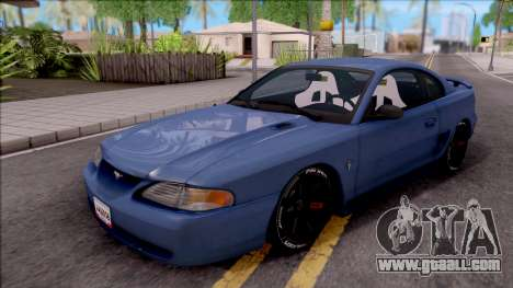 Ford Mustang 1997 Sport for GTA San Andreas