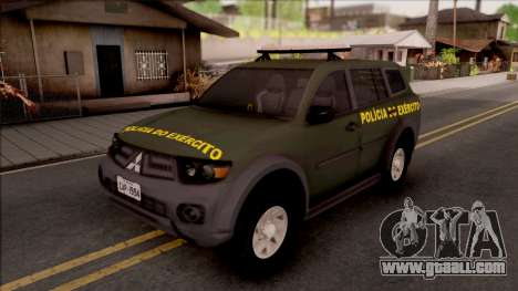 Mitsubishi Pajero Army Police of Brazil for GTA San Andreas