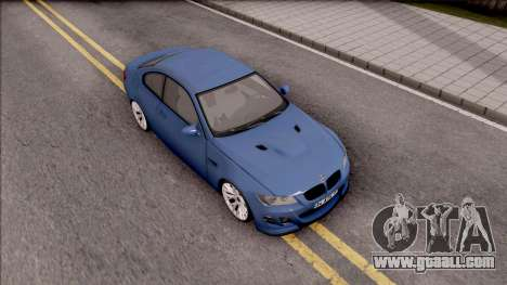 BMW M3 E92 Hamann Tuning for GTA San Andreas right view