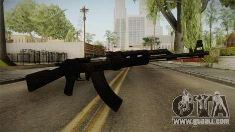 Black AK-47 for GTA San Andreas