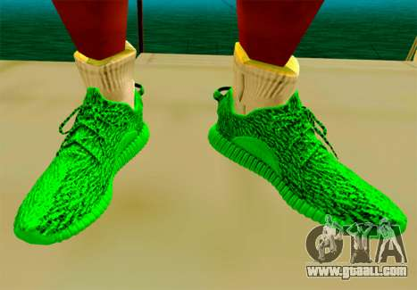 Adidas Yeezy Boost 350 Pack for GTA San Andreas