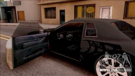 Elegy Tokyo Drift Edition for GTA San Andreas inner view