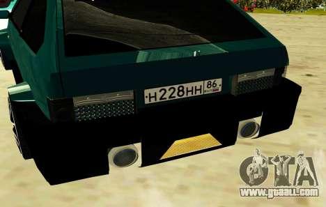 VAZ 2108 SRT8 for GTA San Andreas back view