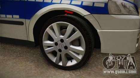 Opel Astra G Politia Romana for GTA San Andreas back view