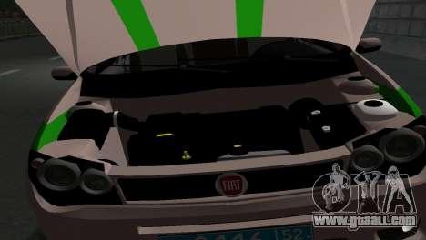 Fiat Albea FSIN for GTA San Andreas right view