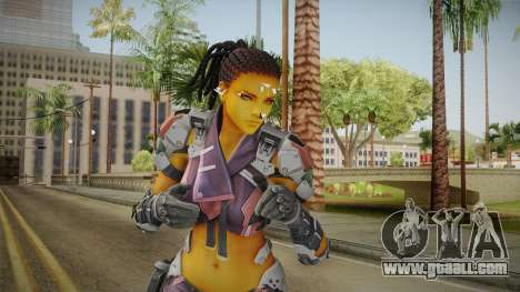 Ghost In A Shell - Maven Reskinned for GTA San Andreas