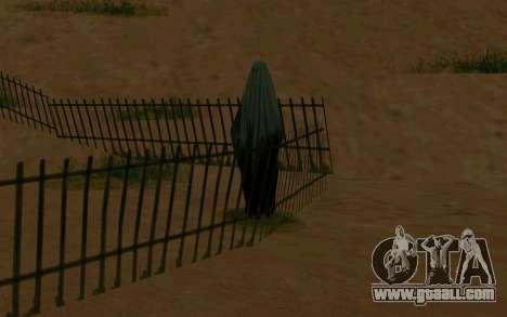 Ghost in the village of El Castillo del Diablo for GTA San Andreas third screenshot