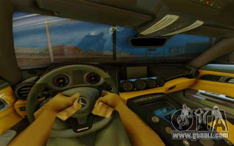 Mercedes-Benz SLS AMG for GTA San Andreas back view