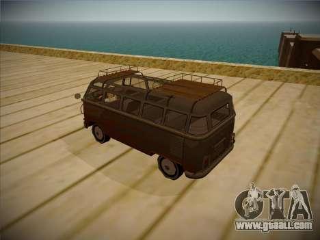 Volkswagen Samba BUS 1959 for GTA San Andreas right view