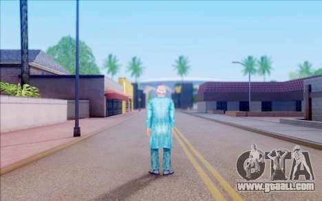 A scientist from S. T. A. L. K. E. R for GTA San Andreas fifth screenshot