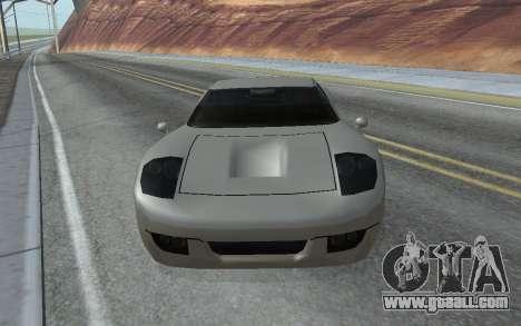 MFR Bullet Legendary Racer for GTA San Andreas right view