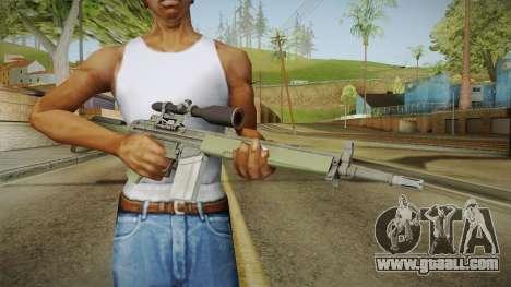 CS-GO - SG1 Sniper Rifle for GTA San Andreas third screenshot