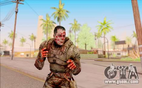 Zombie Degtyarev from S. T. A. L. K. E. R. for GTA San Andreas