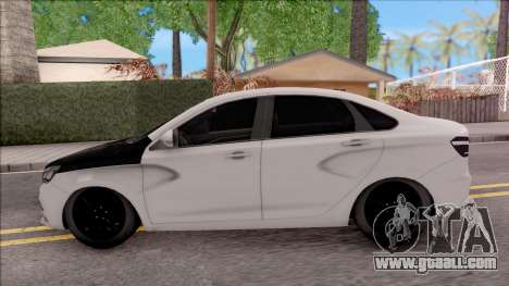 Lada Vesta for GTA San Andreas left view