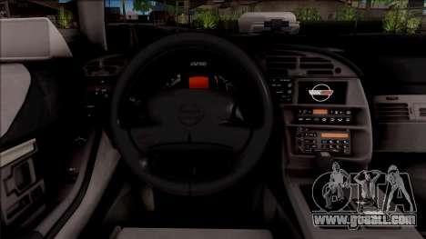 Chevrolet Corvette C4 Police LVPD 1996 v2 for GTA San Andreas inner view
