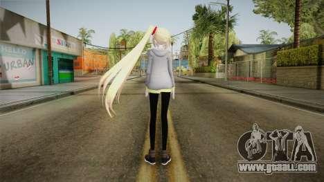 Hoodie Neru Akita Skin for GTA San Andreas third screenshot