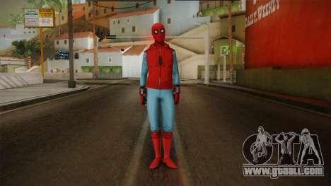 Spiderman Homecoming Skin v2 for GTA San Andreas second screenshot
