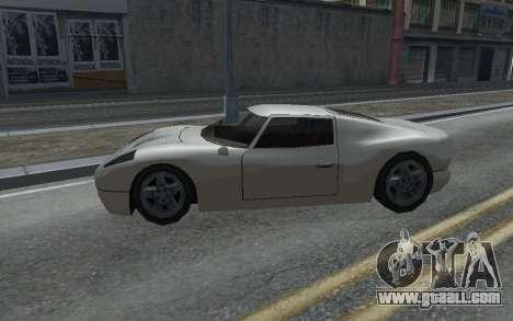 MFR Bullet Legendary Racer for GTA San Andreas left view