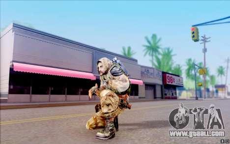 A demon of S. T. A. L. K. E. R for GTA San Andreas fifth screenshot