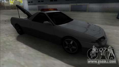 Nissan Skyline R32 Towtruck for GTA San Andreas back view