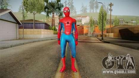Spider-Man Homecoming - Spider-Man for GTA San Andreas second screenshot