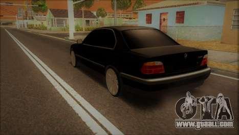 BMW 730i E38 for GTA San Andreas left view