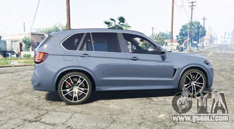 GTA 5 BMW X5 M (F85) 2016 [replace] left side view