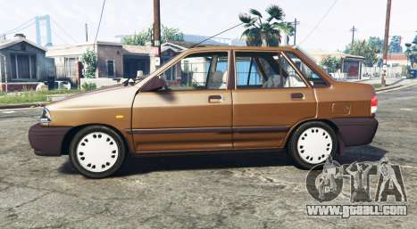 GTA 5 SAIPA 131 SL [replace] left side view