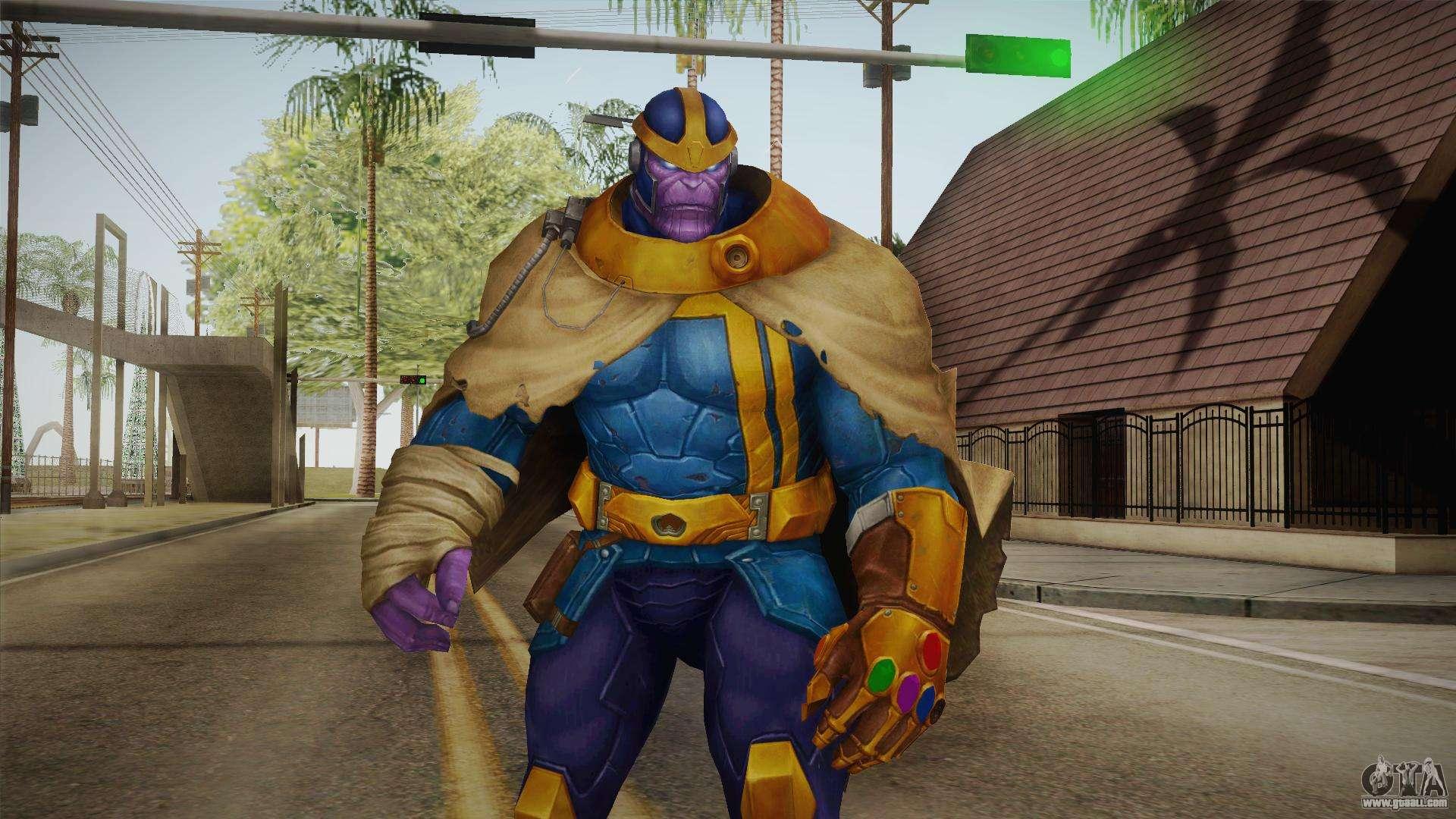 Marvel Future Fight - Thanos for GTA San Andreas