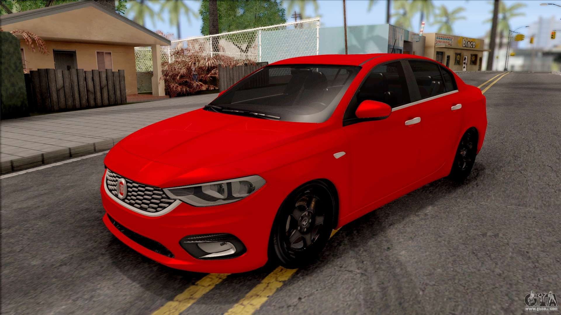 fiat tipo netron tuning for gta san andreas. Black Bedroom Furniture Sets. Home Design Ideas