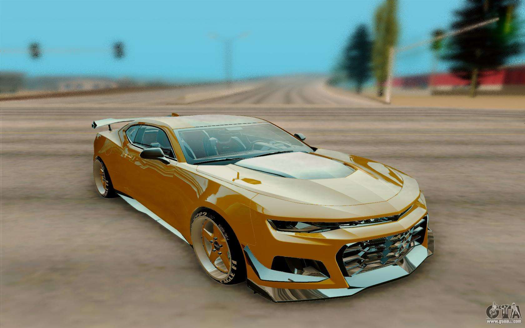 Chevrolet Camaro Zl1 2018 For Gta San Andreas
