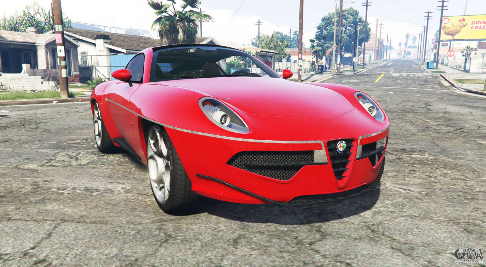 alfa romeo disco volante 2013 add on for gta 5. Black Bedroom Furniture Sets. Home Design Ideas