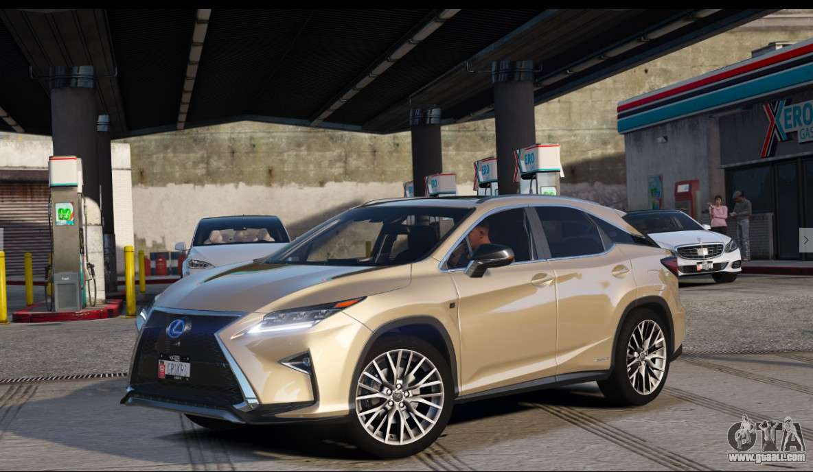 Lexus Rx450h F Sport Final For Gta 5