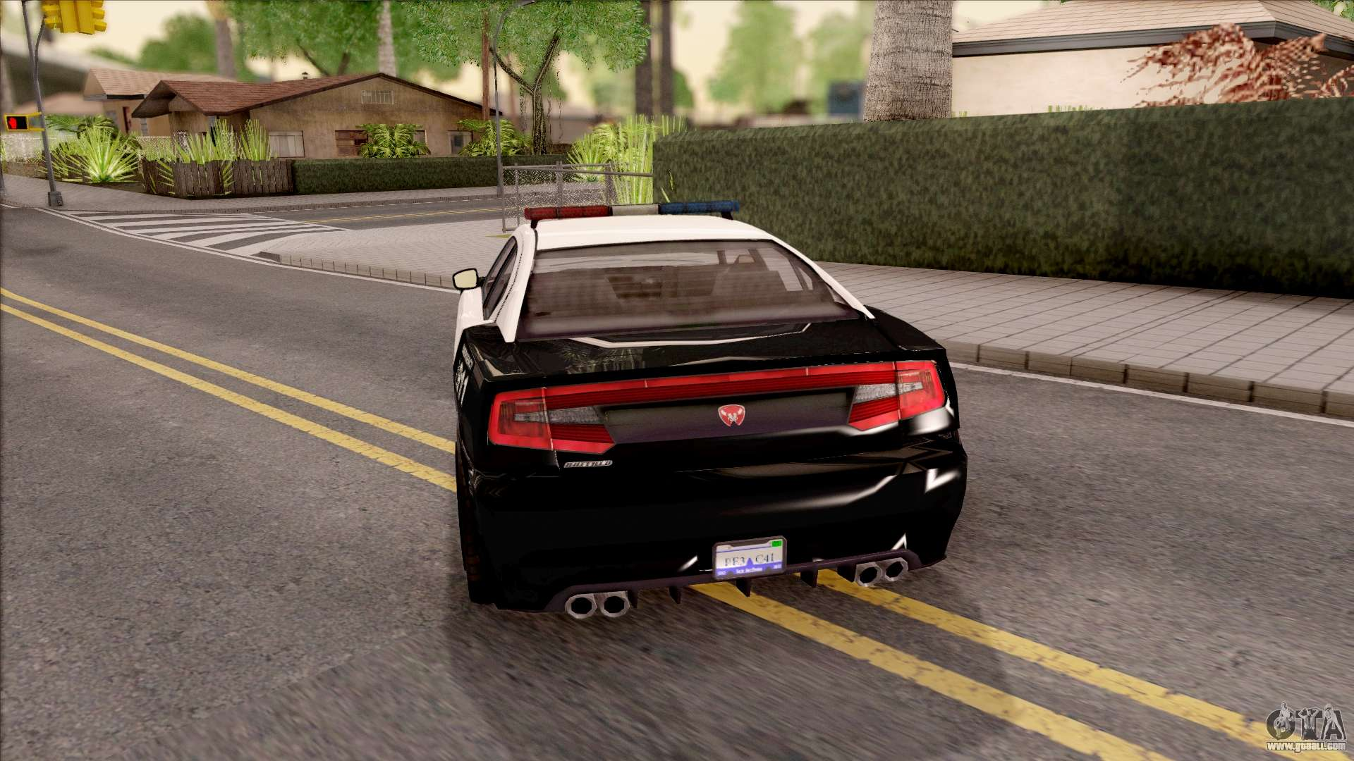 dodge charger police cruiser lowest poly for gta san andreas. Black Bedroom Furniture Sets. Home Design Ideas