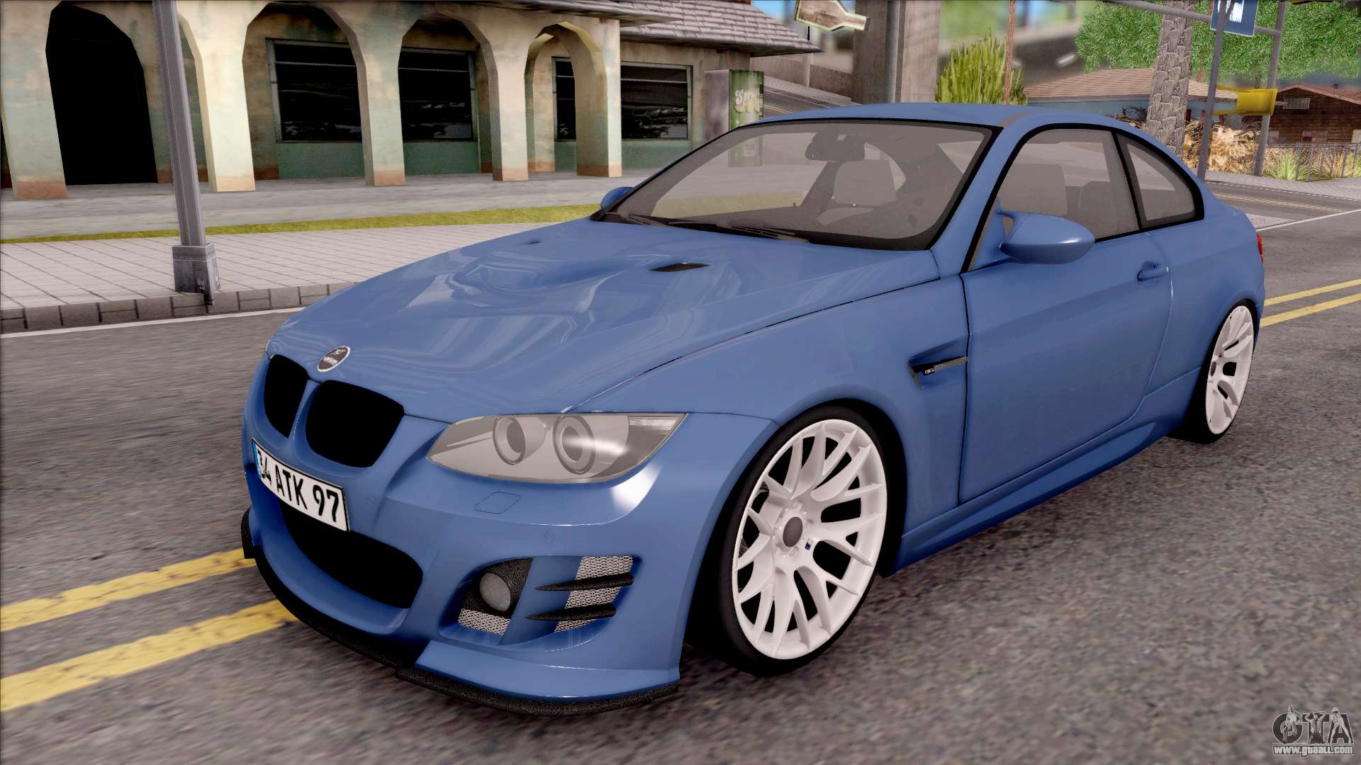 bmw m3 e92 hamann tuning for gta san andreas. Black Bedroom Furniture Sets. Home Design Ideas