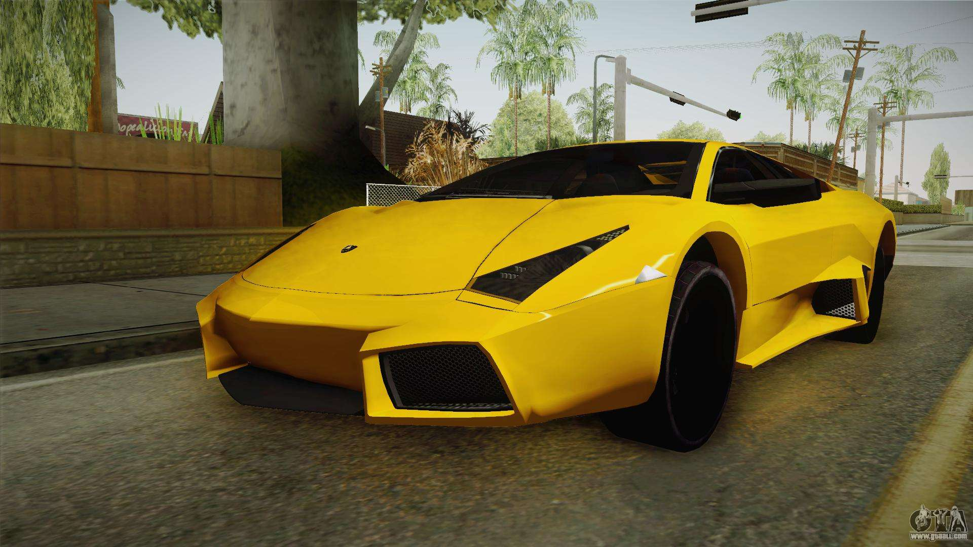 lamborghini reventon for gta san andreas. Black Bedroom Furniture Sets. Home Design Ideas