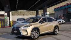 Lexus RX450H F-Sport Final for GTA 5