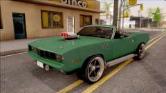 Plymouth Hemi Cuda 426 Cabrio 1971 for GTA San Andreas