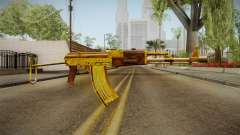 SFPH Playpark - Gold AK47 for GTA San Andreas