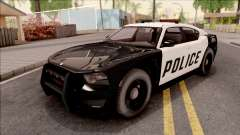 Dodge Charger Police Cruiser Lowest Poly