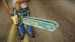 Motosierra Doble Hoja Chainsaw for GTA San Andreas