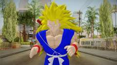 Goku Original DB Gi Blue v5 for GTA San Andreas